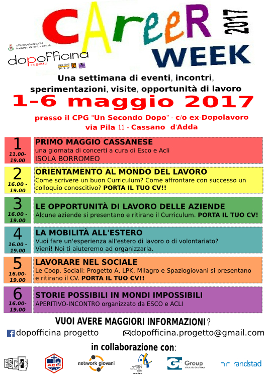CAREER WEEK 2017